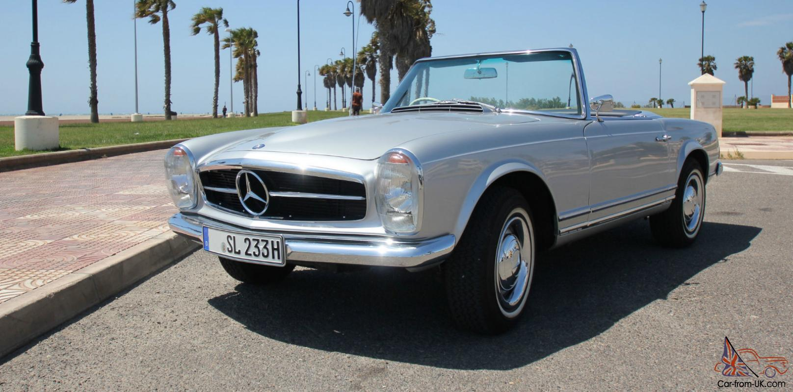 Mercedes benz 230 sl pagoda w113 rhd restored for Mercedes benz 280sl pagoda