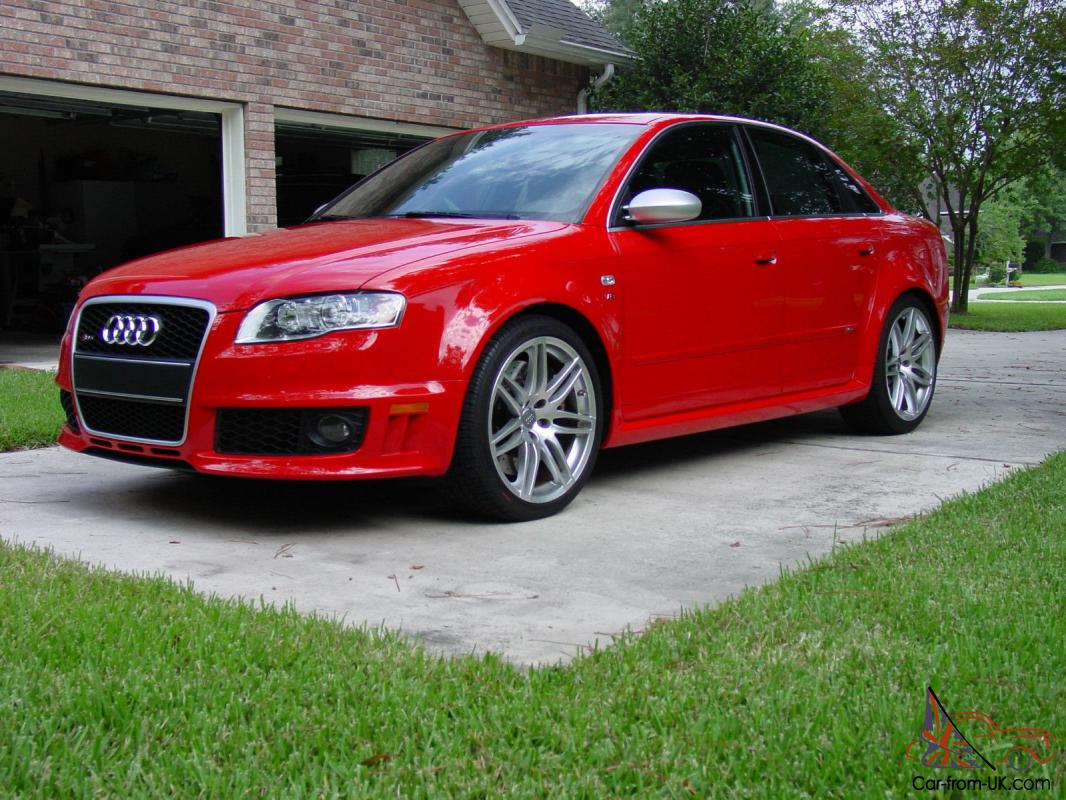 1 of 99 Misano Red RS4 s Lowest mileage car for sale