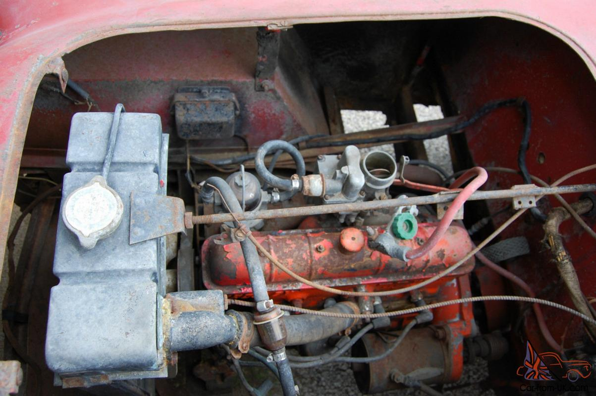 Here I have to offer a 1952 Crosley Super Sport . One of the few VC  Crosleys made in 1952. When I got it. it was sitting for 15 plus years in  ...