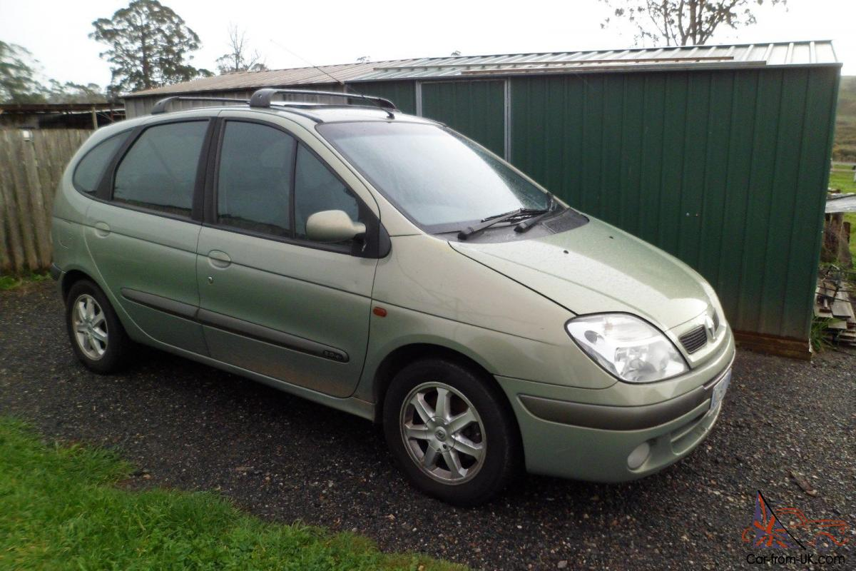 renault scenic privilege 2001 4d wagon 5 sp manual 2l multi point f inj. Black Bedroom Furniture Sets. Home Design Ideas