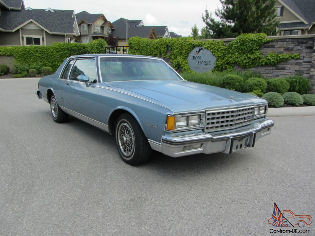 Chevrolet : Caprice Classic Coupe 2-Door