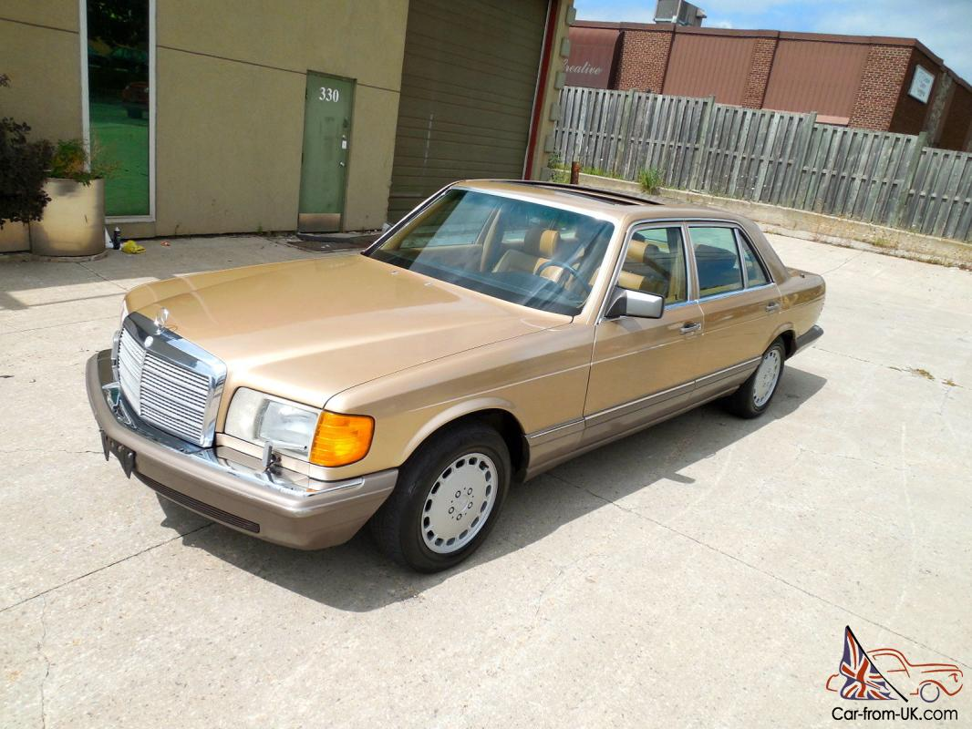 Mercedes benz s class 420 sel w126 for Mercedes benz w126 for sale
