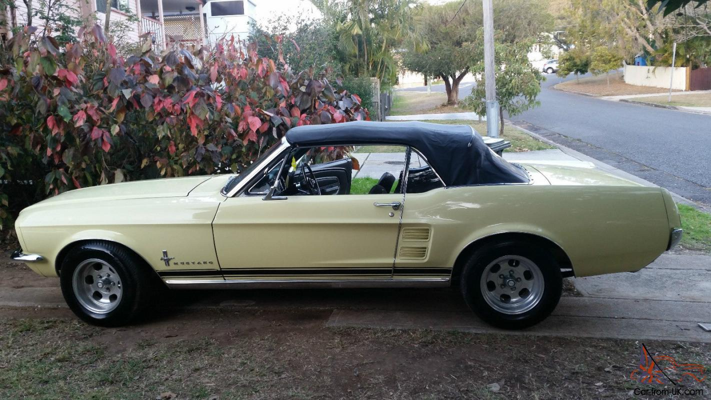1967 ford mustang convertible in moorooka qld