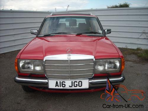 Mercedes benz 230te estate auto 7 seater for Mercedes benz seven seater
