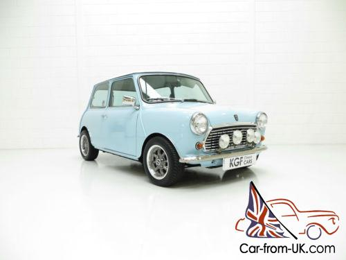 A One Off Creation Austin Mini Cooper Replica Known As Baby Blue