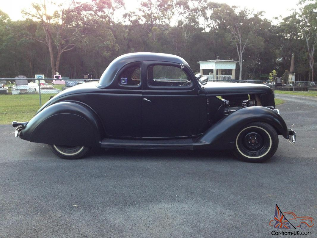 Hot Rod Ford 1936 Five Window Coupe Gold Coast In Upper