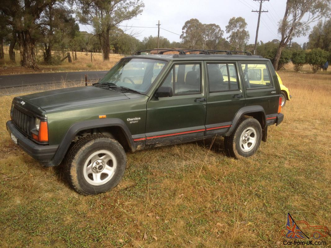 cherokee sport 175000k's 1996 4 sp automatic 4x4 4l electronic in