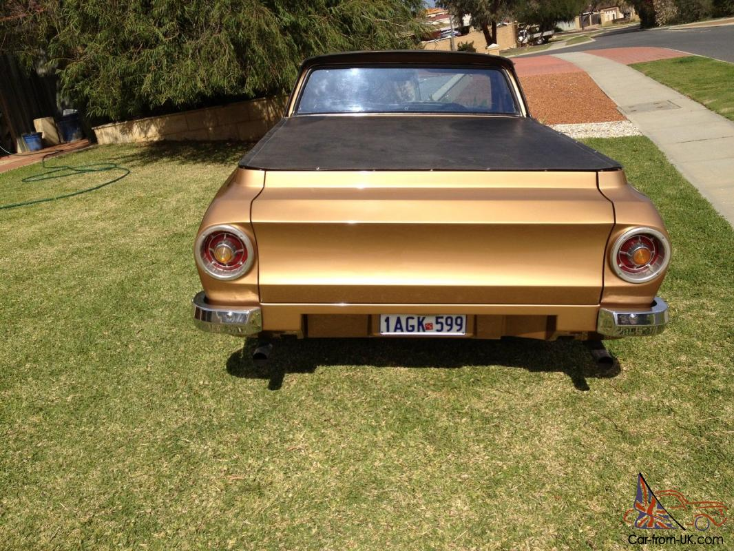 1967 Xr Ford Falcon Ute