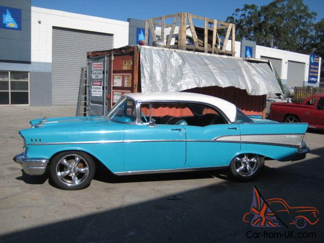 Chevrolet Bel Air 4 Door Hardtop 1957 In Southport Qld