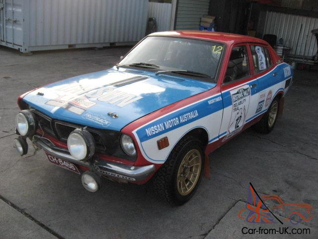 Pb210 Rally Car Sunny Excellent Works Nissan In Fairfield Vic