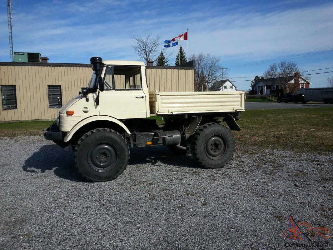 Mercedes Benz Other Unimog 406 Diesel Single Cab