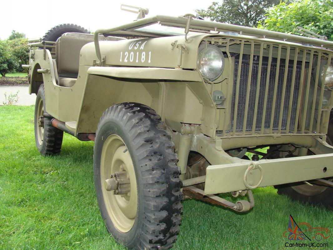 Willys 1942 Willys Slat Grill MB Jeep
