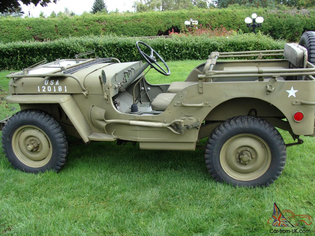 Willys 1942 Slat Grill Mb Jeep Engine Diagram