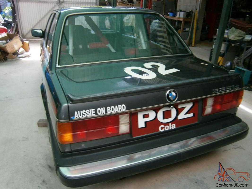 Racing Car History Bmw E30 325is Driven Signed Jack Brabham Built Akg Usa