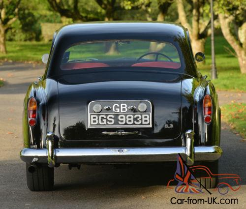 Bentley Continental Flying Spur Limousine By Exotic Limo: 1963 Bentley S3 Continental Flying Spur By H.J. Mulliner