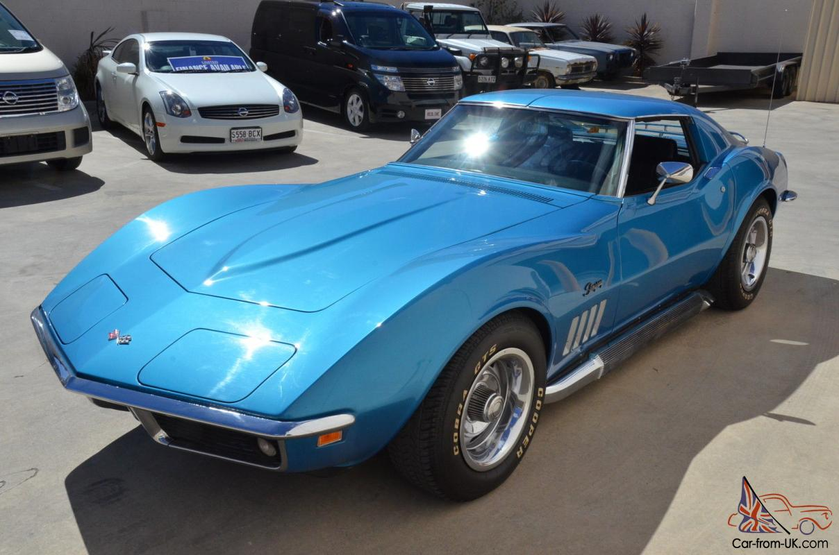 1969 Corvette Stingray >> 1969 Corvette Stingray T TOP Coupe