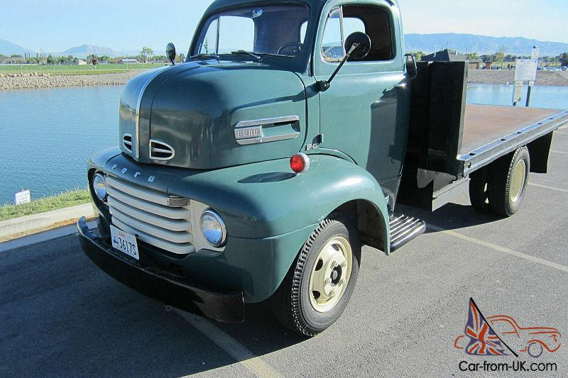 1948 Ford Cabover F6 V8 Flat COE Excellent Condition F100 ...