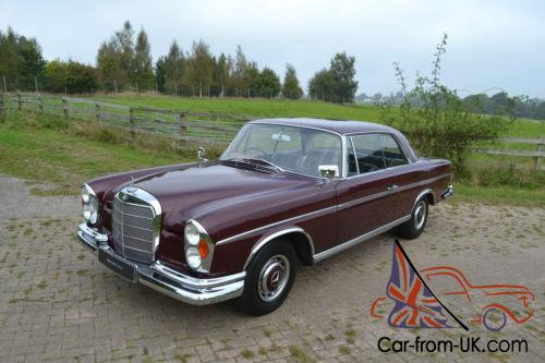 1964 mercedes benz 300se coupe for Mercedes benz 300se for sale