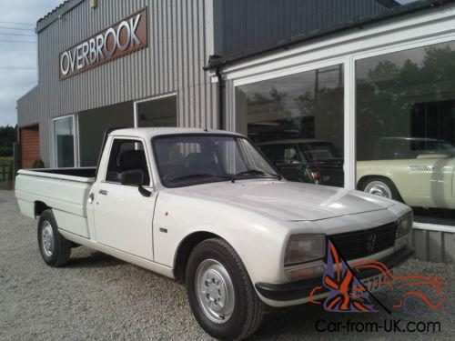 1988 peugeot 504 gl pick up the best example for sale must be seen. Black Bedroom Furniture Sets. Home Design Ideas