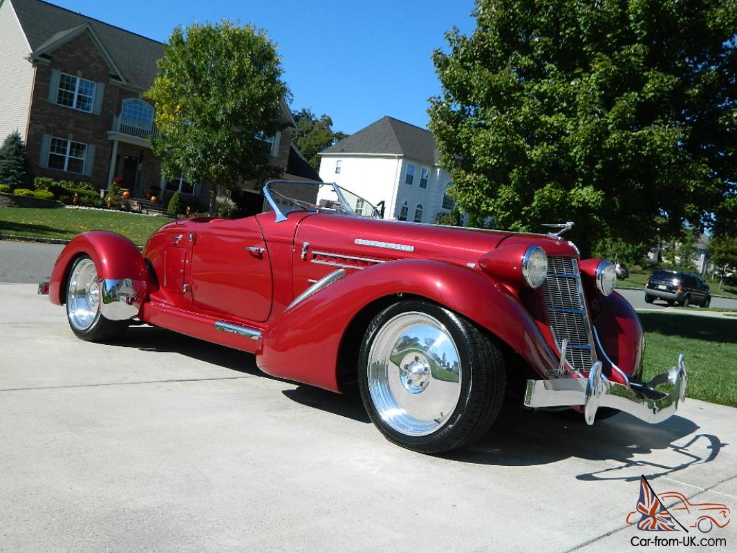 Titled As A 1936 Auburn! Less Then 50 Miles Since Resto