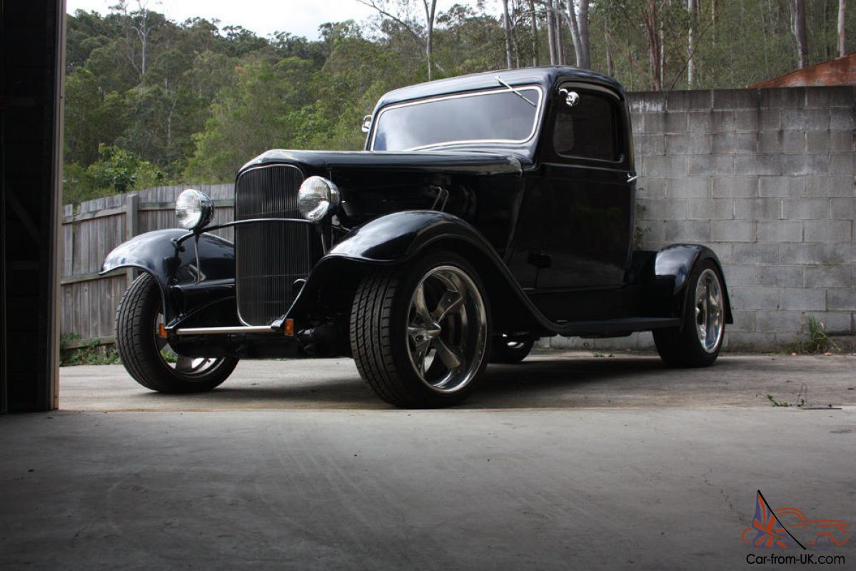 1935 hot rod pickup dodge ford chev may trade in shailer park qld for