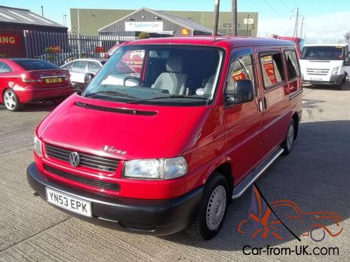 e55b5cb75a Volkswagen TRANSPORTER T4 2.5 LONG NOSE 88BHP SWB KOMBI-VERSA CONVERSION  Photo