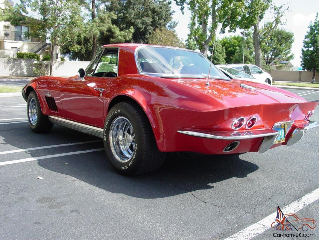 Beautiful 1964 Corvette Stingray Convertible