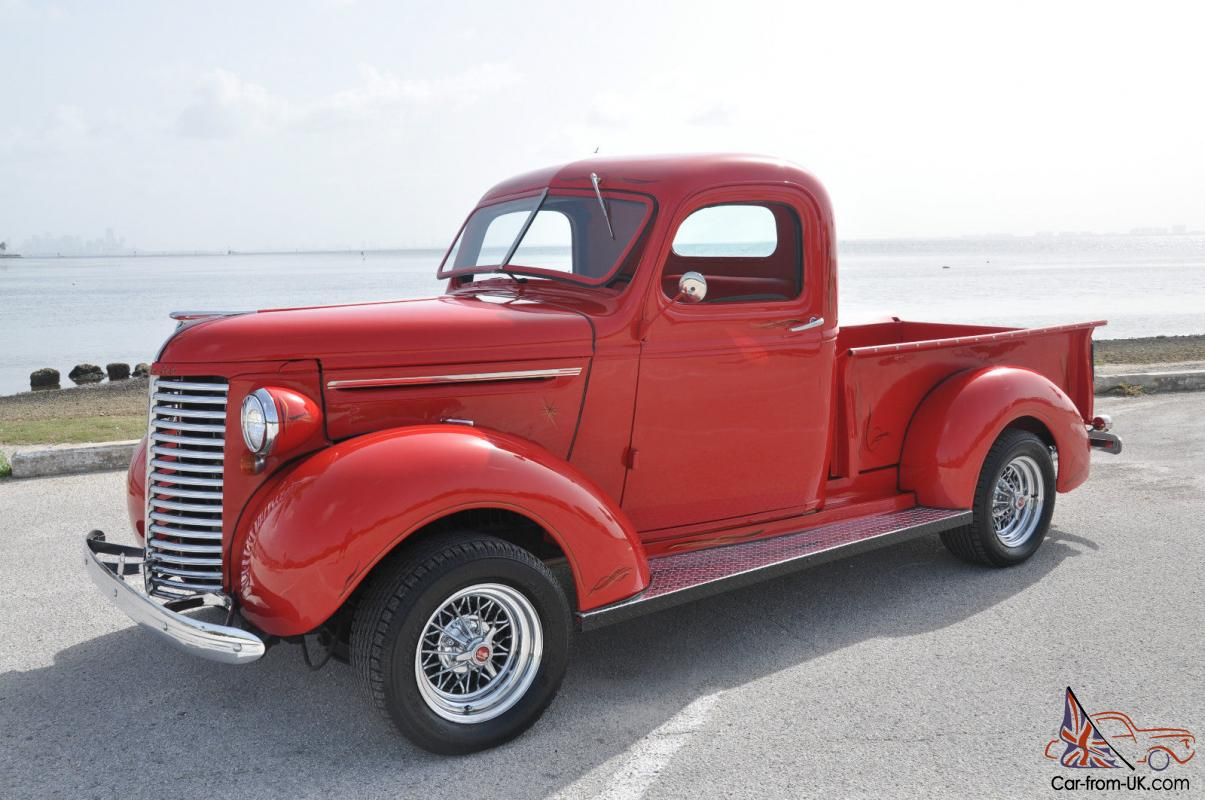 1939 Chevrolet Pickup Auto A C 350 Eng Restored