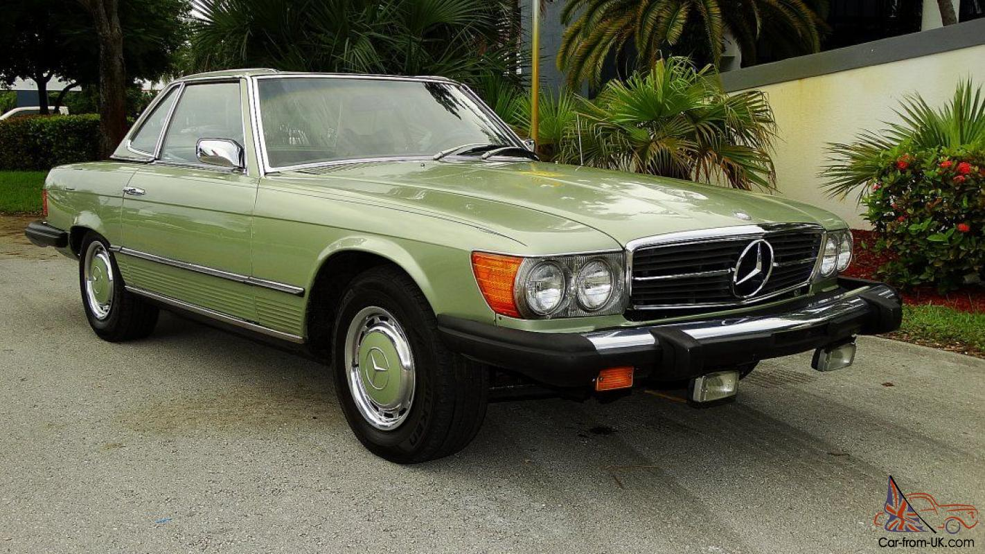 Antique collectible rare mercedes sl find green code for Buy old mercedes benz