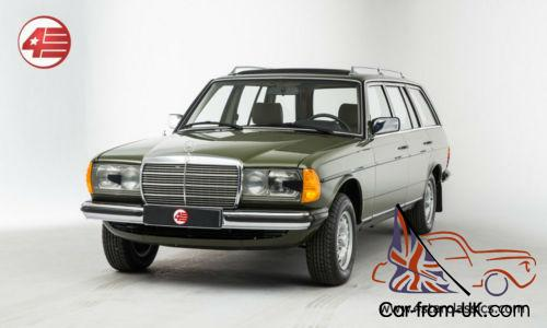 For sale mercedes benz 300td estate touring 1982 w123 for Mercedes benz w123 for sale