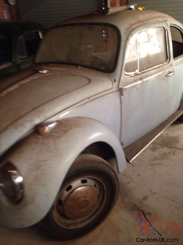 VW Beetle 1968 Barn Find Unfinished Project In Bonnyrigg NSW