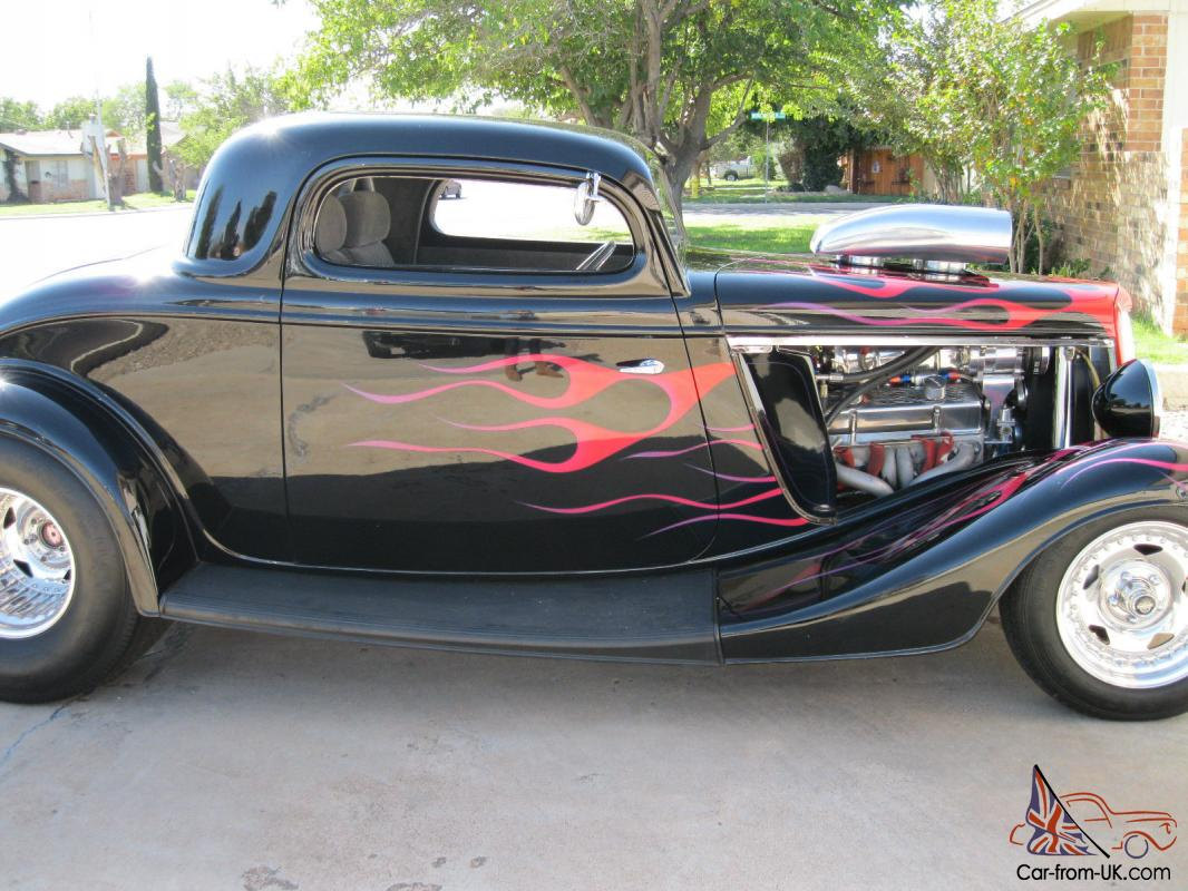 34 ford 3 window coupe. Black Bedroom Furniture Sets. Home Design Ideas