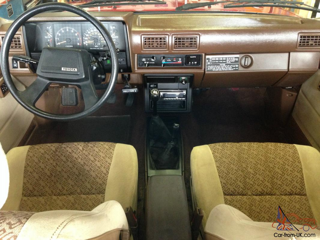 Toyota other sr5 for 1985 toyota pickup interior parts
