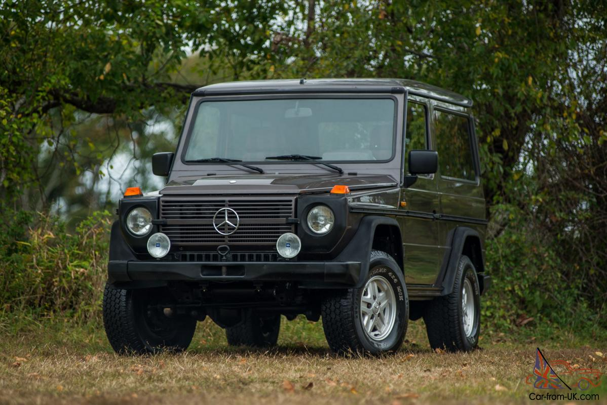 1985 mercedes g300 g class low milage survivor for Mercedes benz g300 for sale