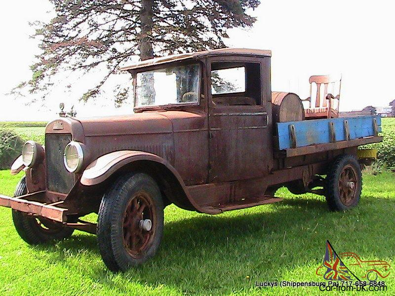Marion Chevrolet Parts >> REO SPEEDWAGON Rare Vintage Truck