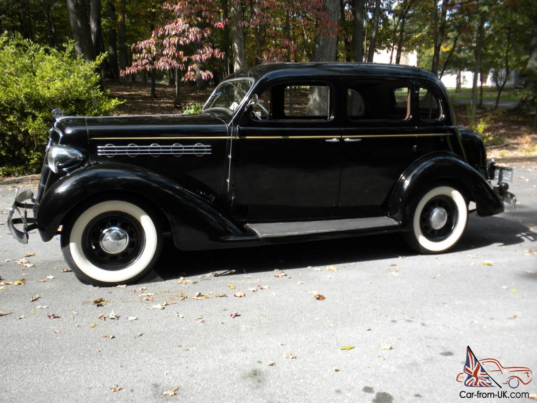 Plymouth other deluxe for 1935 plymouth 4 door sedan