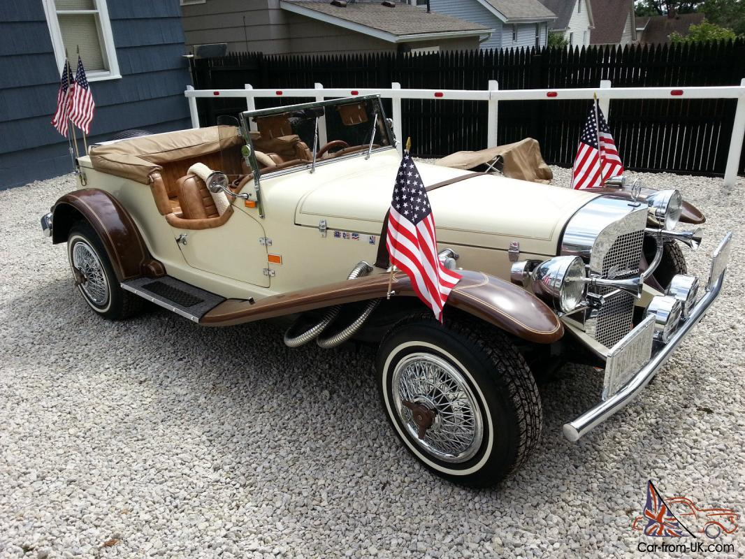 Replica/Kit Makes : 1929 Mercedes SSK Deluxe Gazelle Kit Car Open ...