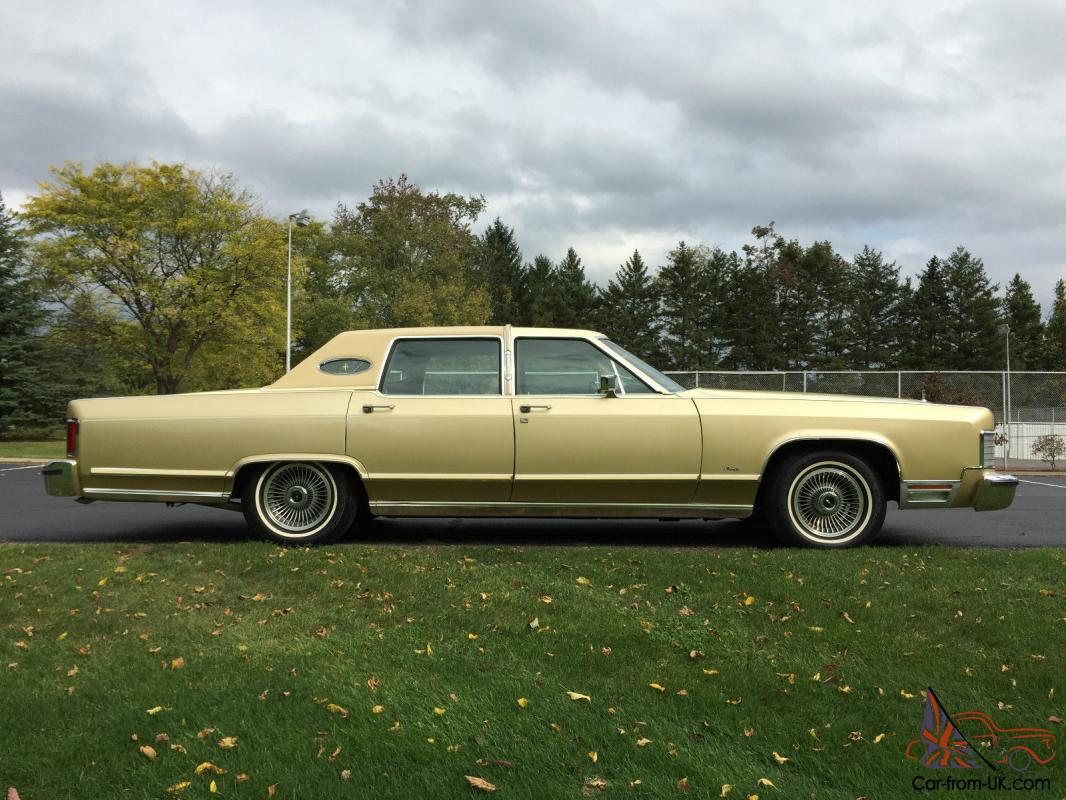 Lincoln Continental Town Car Williamsburg Limited Edition 1974 Wiring Diagram