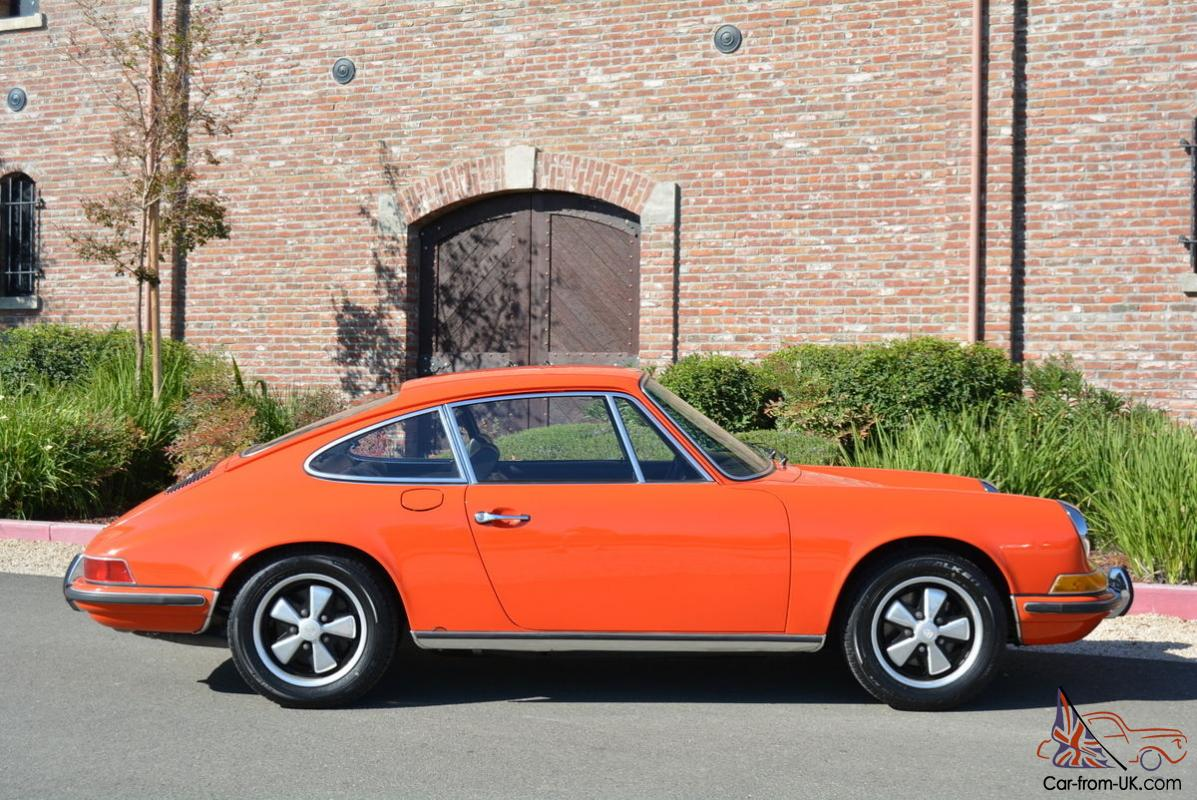 Porsche 911 911t Coupe Sportomatic