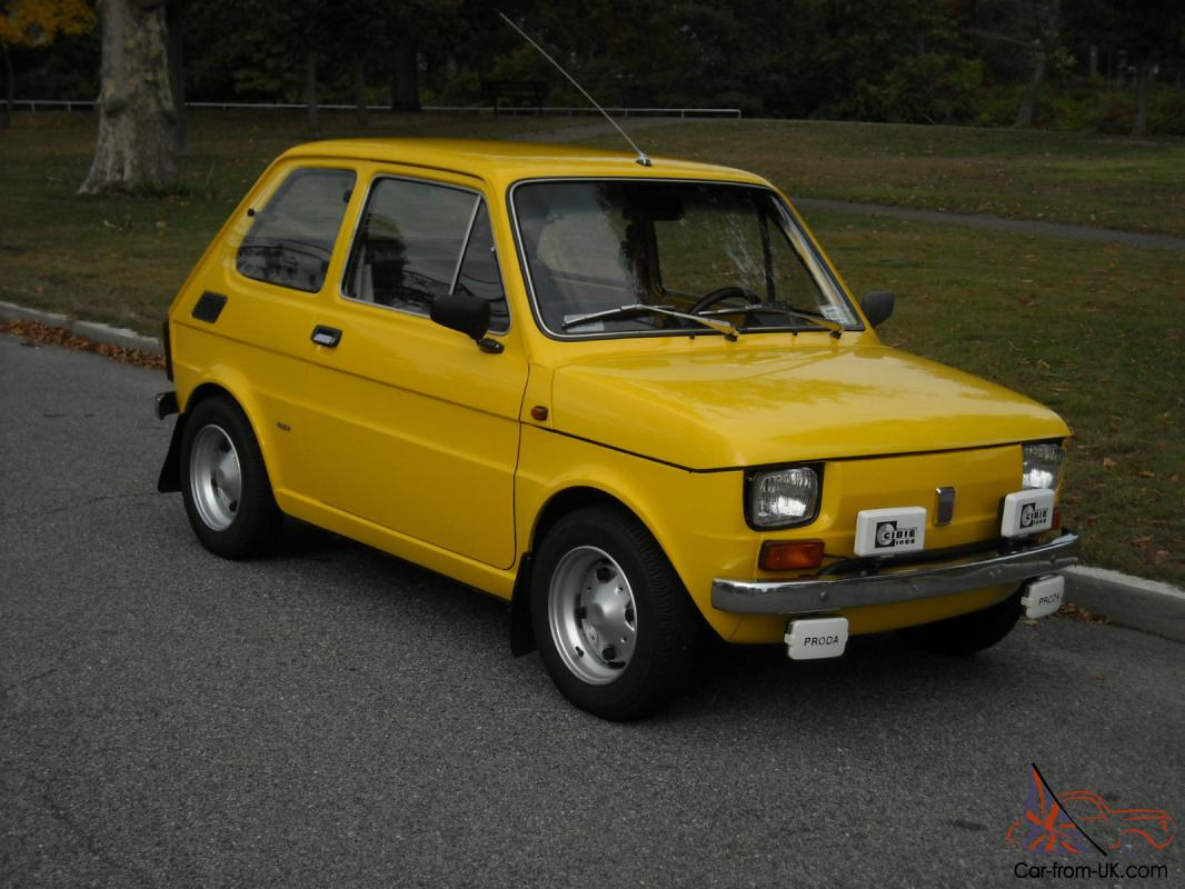 Fiat Abarth Specifications >> Fiat : Other Fiat 126 P