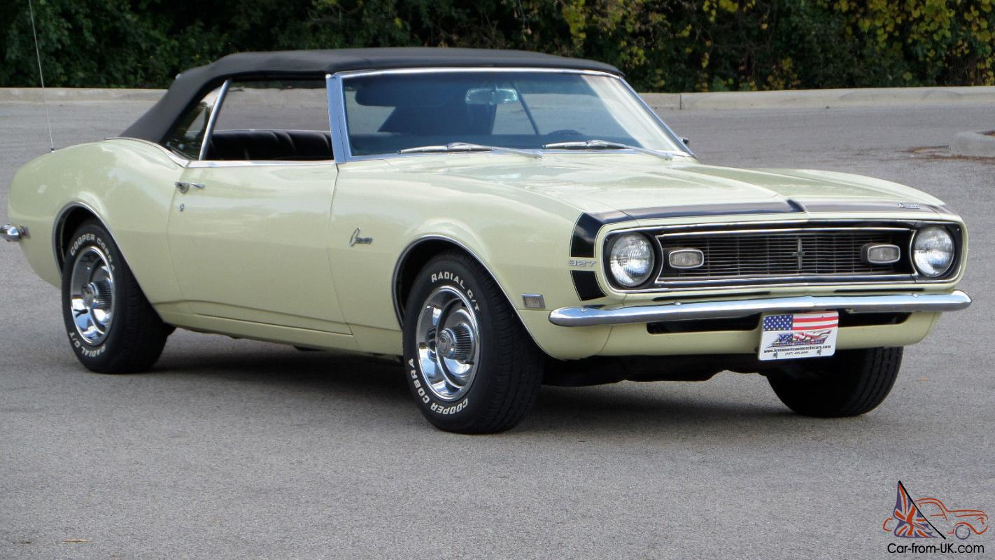 HD VIDEO 1968 CAMARO SS 327 FOR SALE SEE WWW SUNSETMILAN COM - YouTube
