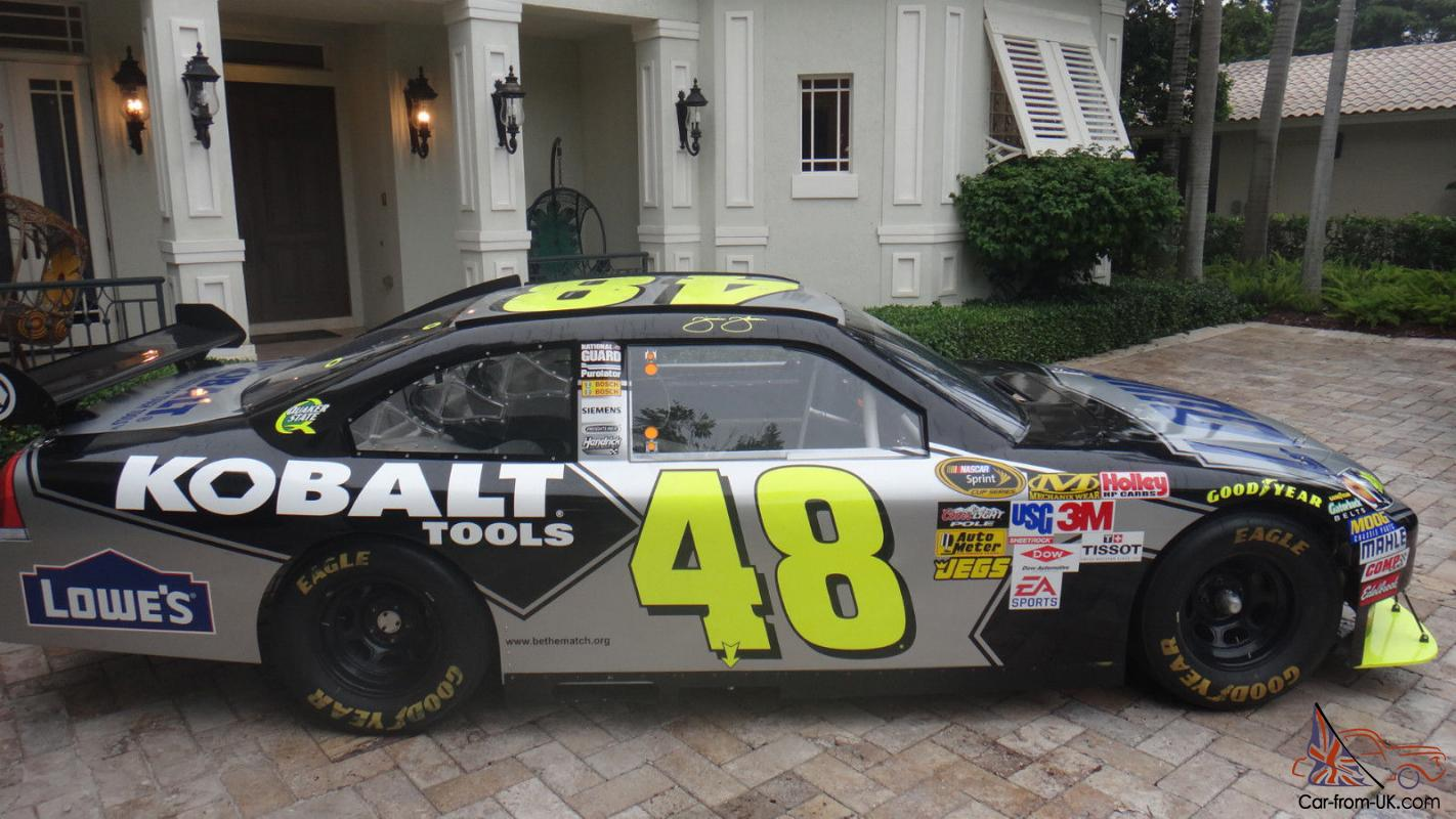 48 Jimmie Johnson Cot Nascar Documented Series Racecar