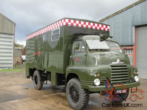 a5207d8ec1 1957 BEDFORD A.F.S ARMY FIRE SERVICE MOBILE HEADQUARTERS - FULL RESTORED -  Photo