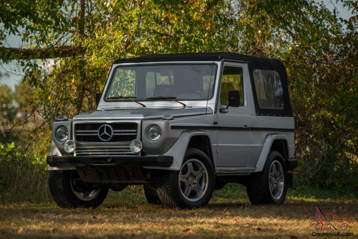1983 mercedes g300 g class convertible low milage amg for Mercedes benz g class cabriolet for sale