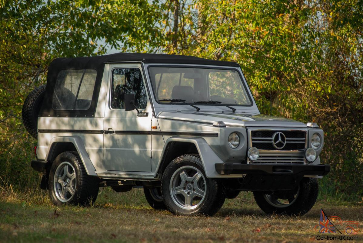 1983 mercedes g300 g class convertible low milage amg. Black Bedroom Furniture Sets. Home Design Ideas