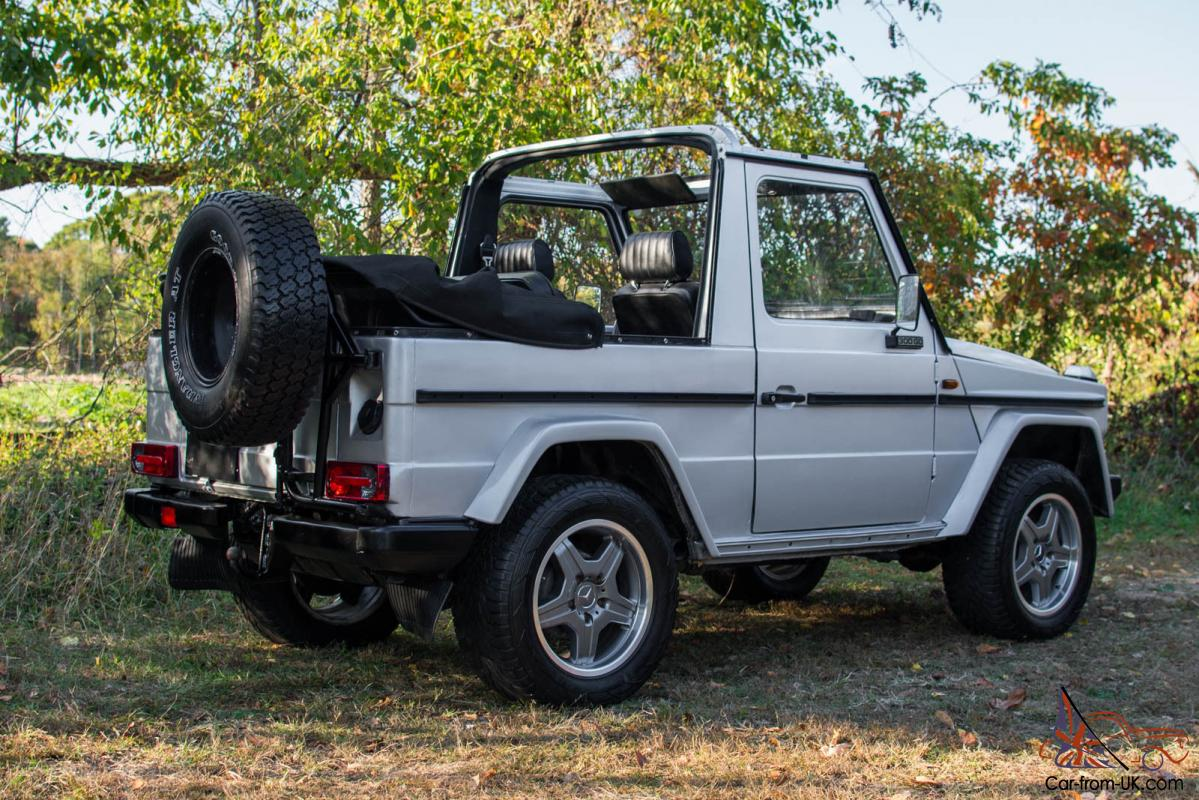 1983 Mercedes G300 G Class Convertible Low Milage Amg