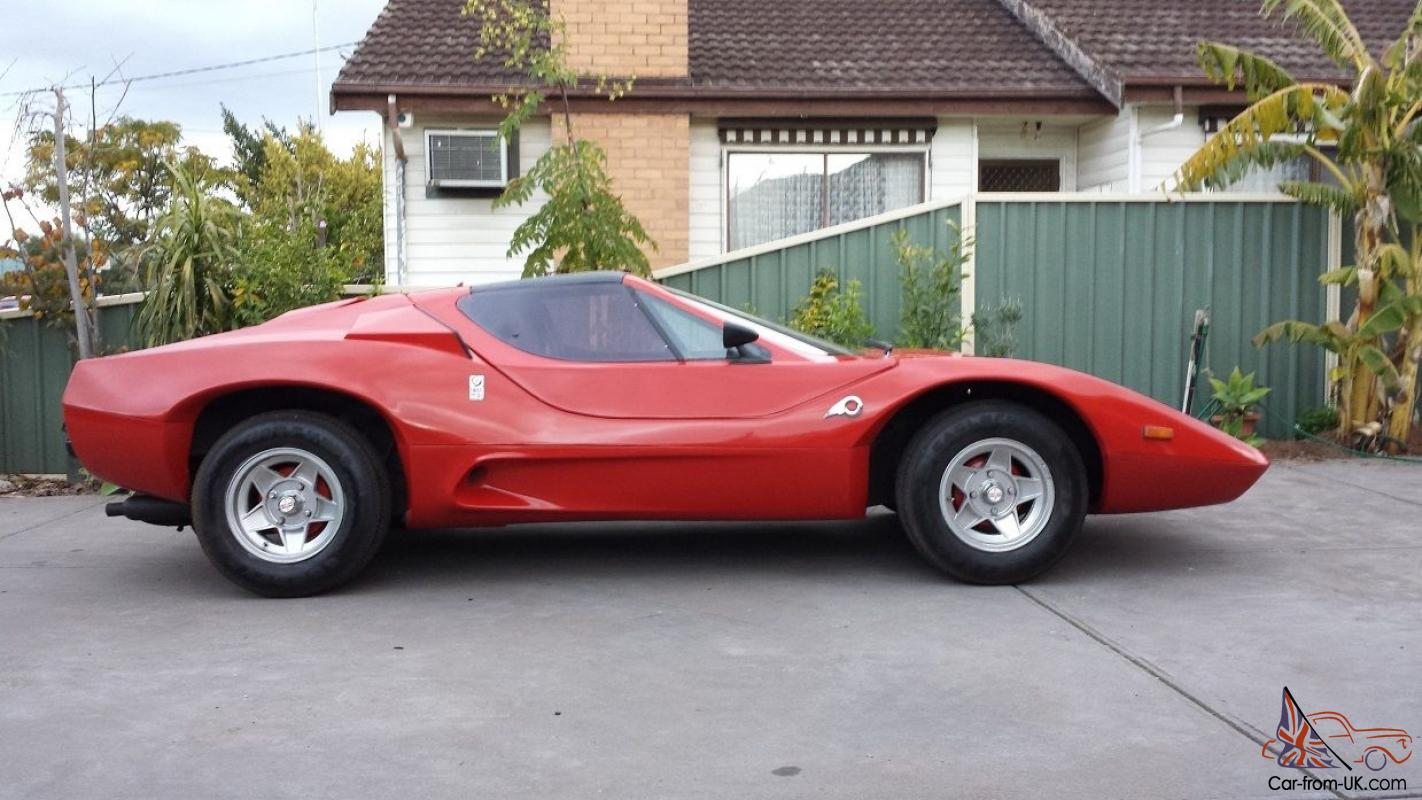 Kit Car Manufacturers >> Purvis Eureka Kit Car Looks Like Ferrari Lambo Gt40 In Altona