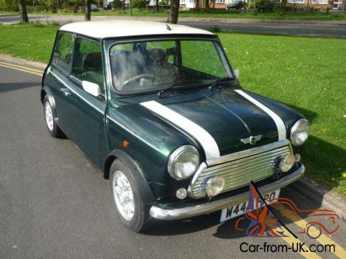 2000 rover mini cooper in british racing green. Black Bedroom Furniture Sets. Home Design Ideas