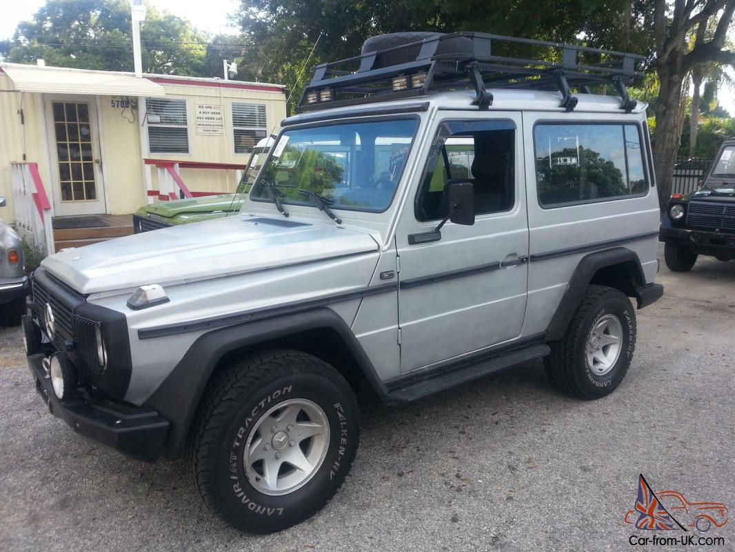Mercedes Benz G Class 300gd Hardtop 2 Door