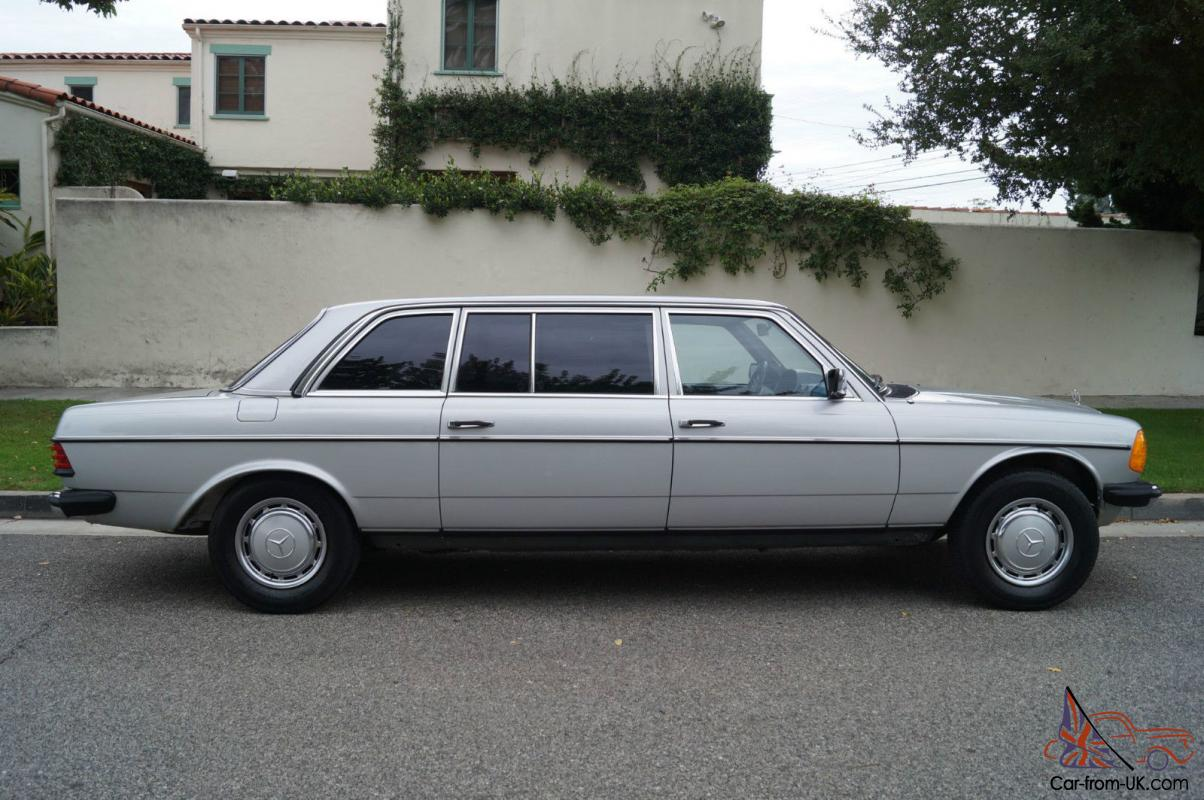 Mercedes benz 300 series rare factory built lwb diesel for Mercedes benz limo
